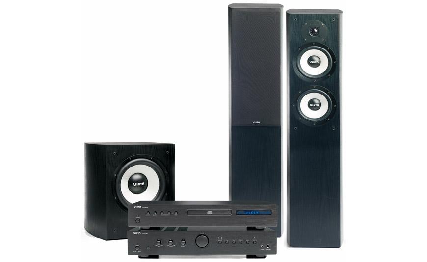 Tu Alta Fidelidad Sistema 2.1 Vieta System Hi-Fi