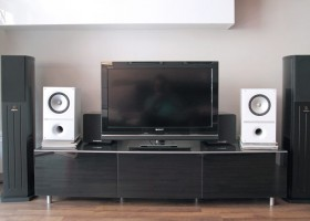 Cajas acústicas KEF Q300