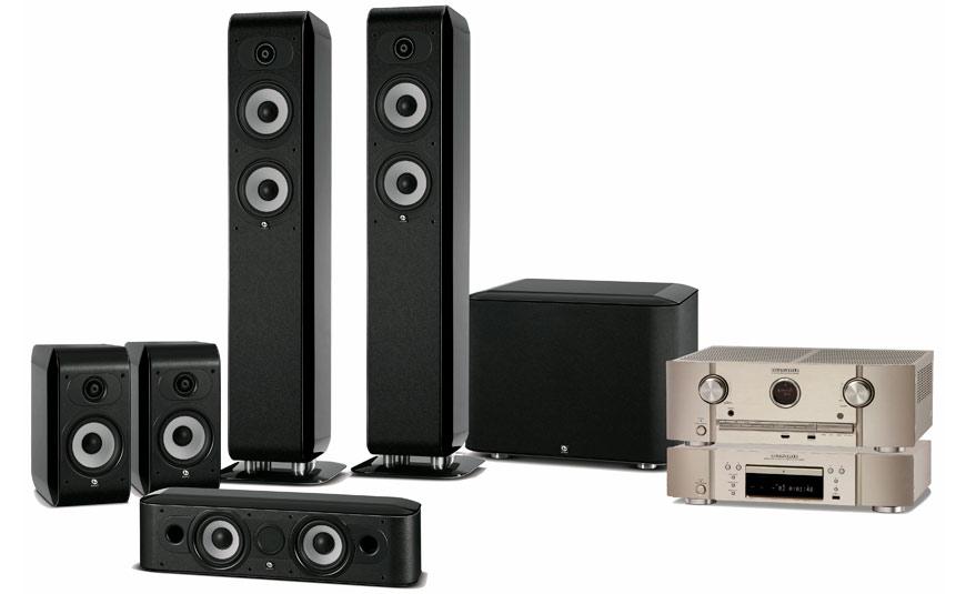 Tu Alta Fidelidad Sistema 5.1 Marantz & Boston Acoustics
