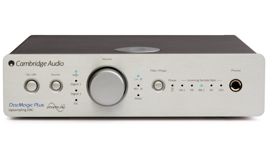 Tu Alta Fidelidad Cambridge Audio Dacmagic Plus Silver