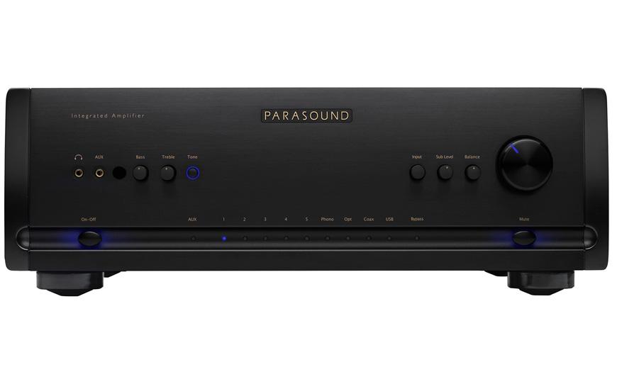 Parasound Halo amplificador de potencia con pre y DAC