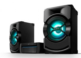 Sistemas de audio High Power de Sony