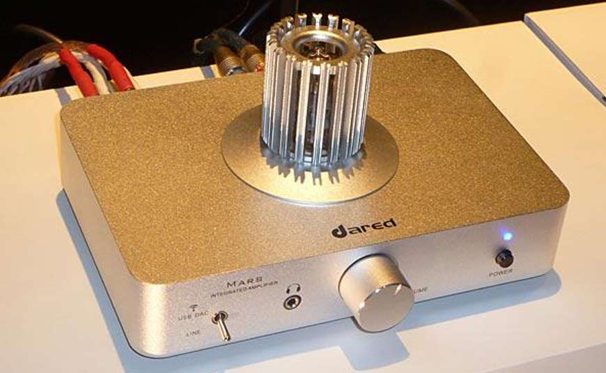 Dared Mars amplificador de válvulas y DAC