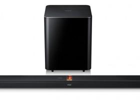 Barra de sonido con subwoofer Samsung HW-F750