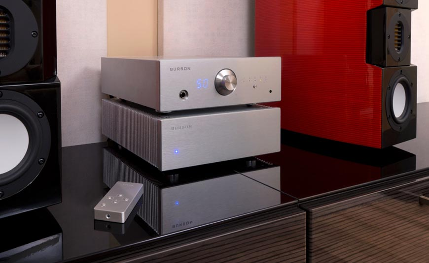 Conductor Virtuoso Burson Audio amplificador DAC