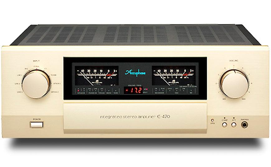 Accuphase E-470 amplificador