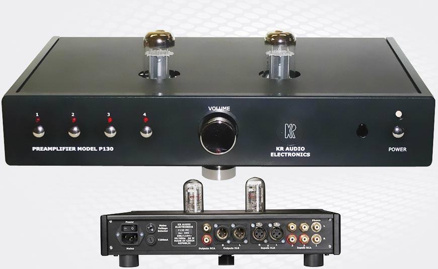 KR Audio P130 preamplificador híbrido