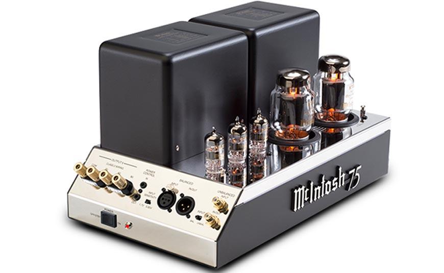 McINTOSH MC75 amplificador de potencia