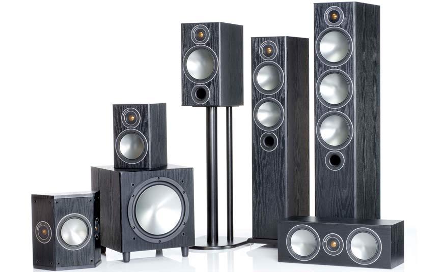 Monitor Audio Bronze cajas acústicas