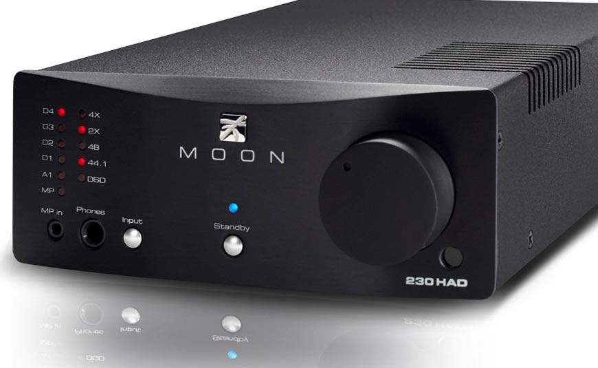 MOON Neo 230HAD DAC con amplificador de auriculares