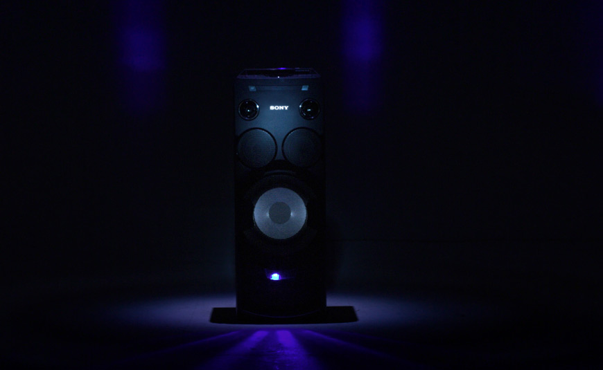 Sony MHC-V7D altavoces con estilo Cymatics