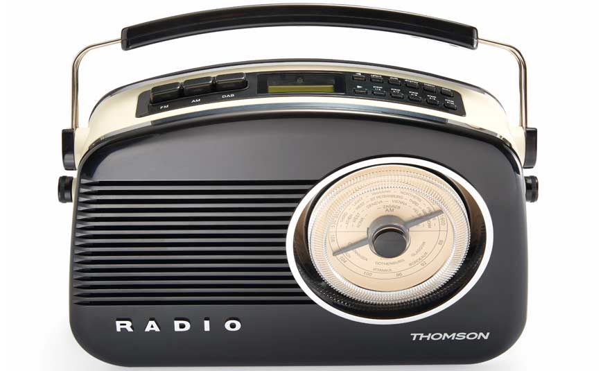Thomson DAB03 radio FM DAB estilo retro