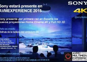 Sony presentará los proyectores 4K en AVME