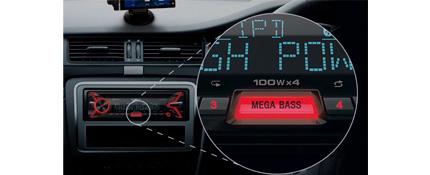 Sony MEX-XB100BT amplificador digital para coche