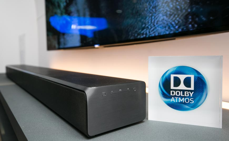 Samsung HW-K950 barra de sonido con tecnología Dolby AtmosSamsung HW-K950 barra de sonido con tecnología Dolby Atmos