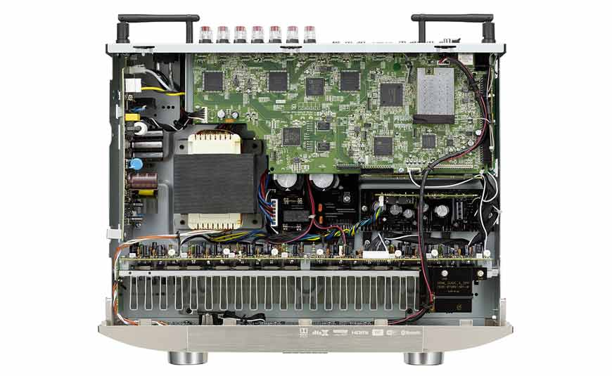 Marantz NR1607 receptor de AV ultradelgado