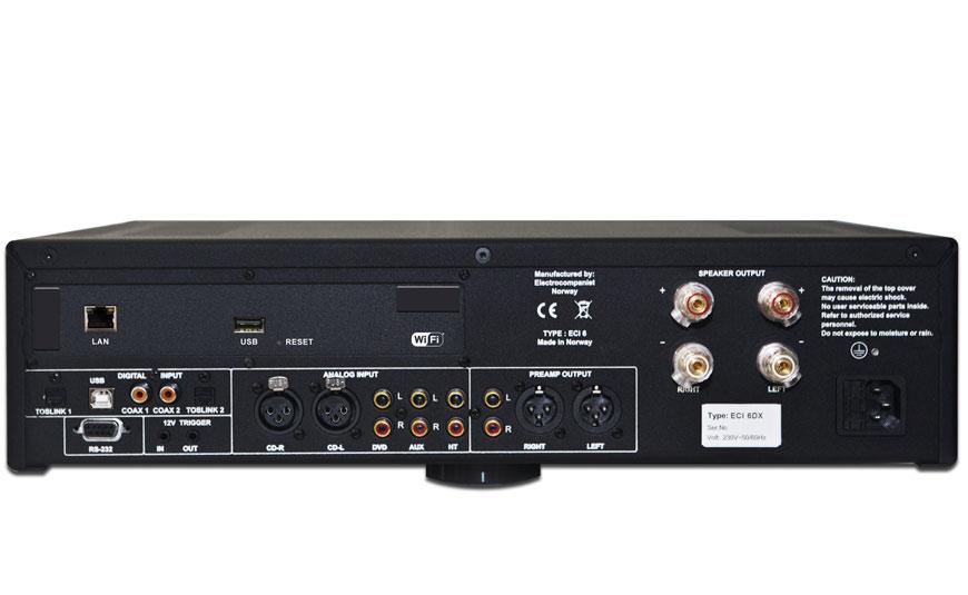 Electrocompaniet ECI 6DX amplificador con streamer y DAC