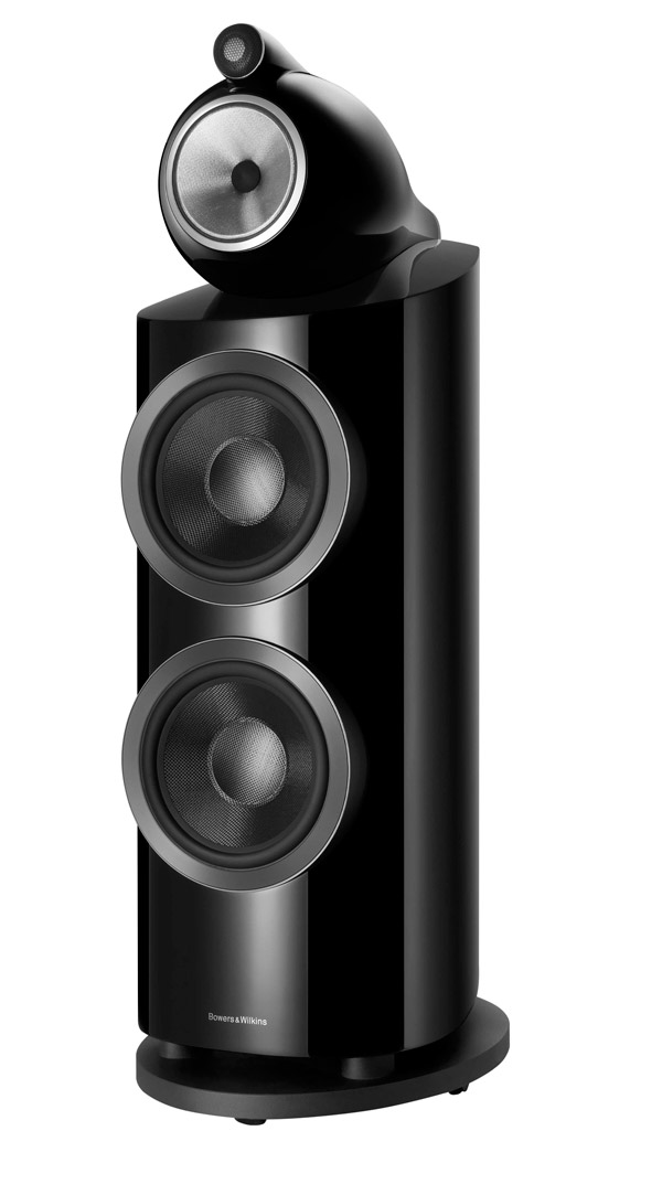 Bowers&Wilkins 800 D3 en color negro