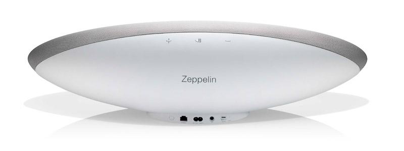 Bowers&Wilkins Zeppelin Wireless en blanco,