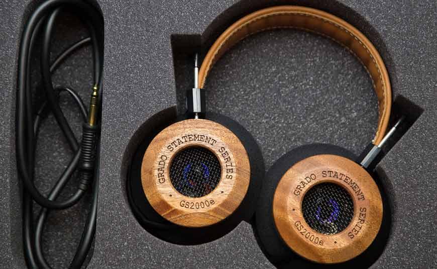 GRADO GS2000E auriculares con carcasa de madera