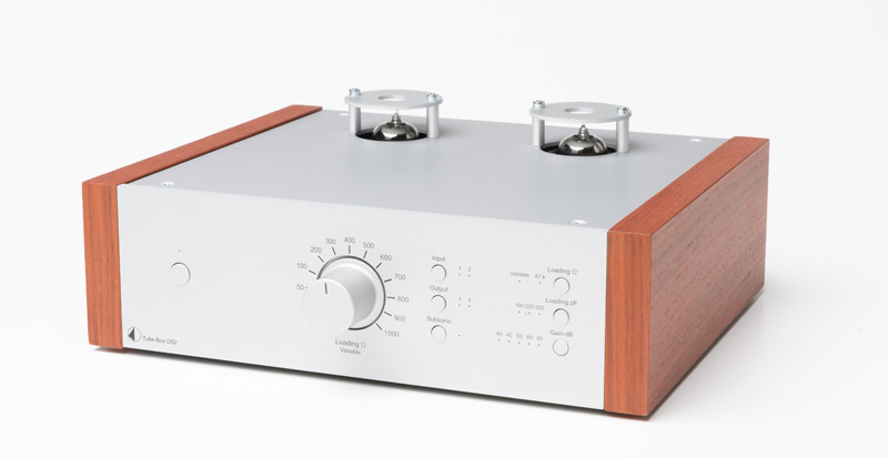 Preamplificador de fono Box Design by Pro-Ject Tube Box DS2