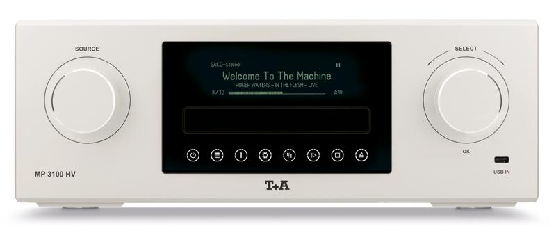 Equipo de T+A modelo MP3100HV